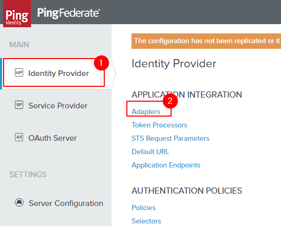 AzureAD PCV with PingFederate | sams site