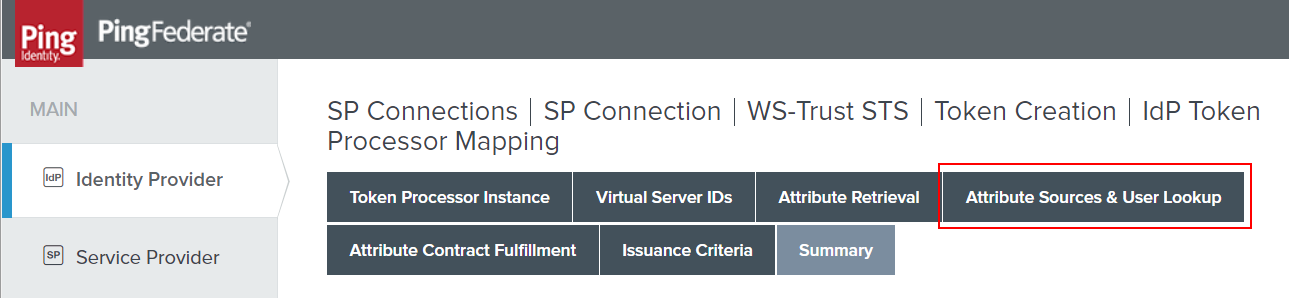 Controlling STS with PingFederate by Application | sams site